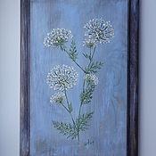 """Картины и панно ручной работы. Ярмарка Мастеров - ручная работа """" Анис """". Handmade."""