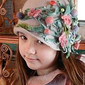 """Одежда ручной работы. Ярмарка Мастеров - ручная работа """"Весна -Весна!"""" Войлок  Комплект для девочки. Handmade."""