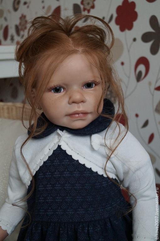 Куклы-младенцы и reborn ручной работы. Ярмарка Мастеров - ручная работа. Купить Андрес. Handmade. Тёмно-синий, винил