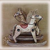 Куклы и игрушки ручной работы. Ярмарка Мастеров - ручная работа лошадка Агриппина ... еще раз. Handmade.