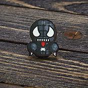 Украшения handmade. Livemaster - original item Wooden icon of venom. Handmade.