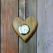Для дома и интерьера ручной работы. Ярмарка Мастеров - ручная работа Часы настольные Сердце. Handmade.