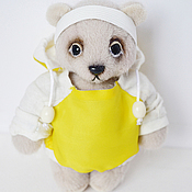 Куклы и игрушки ручной работы. Ярмарка Мастеров - ручная работа мишутка CJ. Handmade.