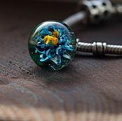 """Подвеска ручной работы. Ярмарка Мастеров - ручная работа Подвеска шар """"Весенний цветок"""". Handmade."""