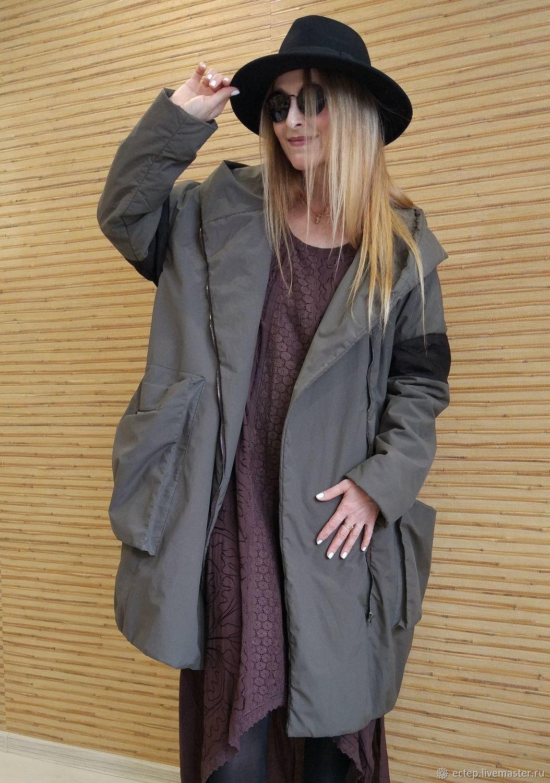 44926cfb031 Верхняя одежда ручной работы. Ярмарка Мастеров - ручная работа. Купить  Пальто  Милитари  ...