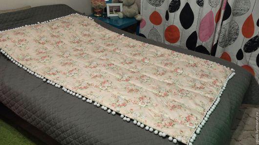 """Текстиль, ковры ручной работы. Ярмарка Мастеров - ручная работа. Купить Одеяло в стиле """"Шебби шик"""". Handmade. Комбинированный, мягкий"""