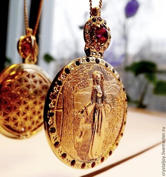 """Кулоны, подвески ручной работы. Ярмарка Мастеров - ручная работа. Купить """" Благословение Геи"""" - 2. Handmade. Медальон"""