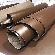 Материалы для творчества handmade. Livemaster - original item Leather: Leather Shoe. Brown. 2,0-2,2 mm. Handmade.