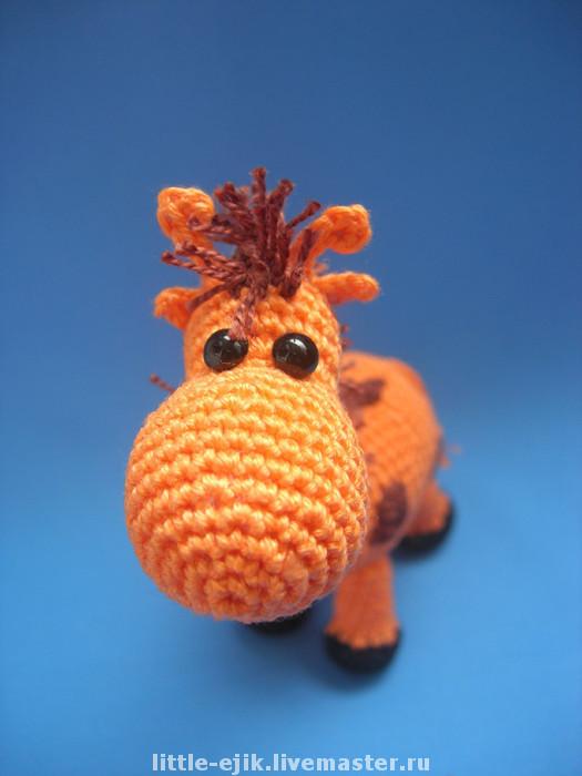 Игрушки животные, ручной работы. Ярмарка Мастеров - ручная работа. Купить жирафик Егорка. Handmade. Игрушка, жирафы, подарки, синтепух