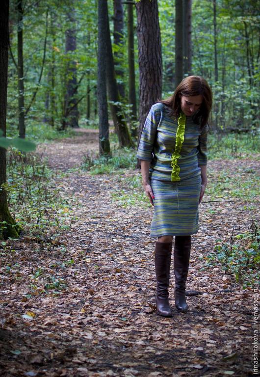 Платья ручной работы. Ярмарка Мастеров - ручная работа. Купить Вязаное платье авторское Обожание Миссони 2. Handmade.