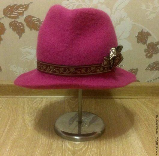 Шляпы ручной работы. Ярмарка Мастеров - ручная работа. Купить шляпка. Handmade. Валяная шляпа, стильная шляпка, подарок девушке
