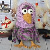 Куклы и игрушки ручной работы. Ярмарка Мастеров - ручная работа Матильда Степановна, ворона. Handmade.