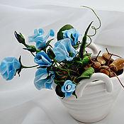 """Цветы и флористика ручной работы. Ярмарка Мастеров - ручная работа """"Лесная Нимфа"""" - интерьерная композиция. Handmade."""