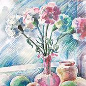 Картины и панно ручной работы. Ярмарка Мастеров - ручная работа Картина Холодный свет. Handmade.