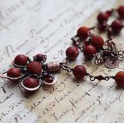 Украшения handmade. Livemaster - original item Necklace with Jasper. Handmade.