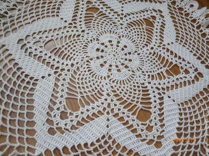 Текстиль, ковры ручной работы. Ярмарка Мастеров - ручная работа большая салфетка. Handmade.