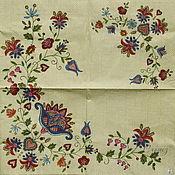 Материалы для творчества handmade. Livemaster - original item Napkins for decoupage russian patterns print. Handmade.