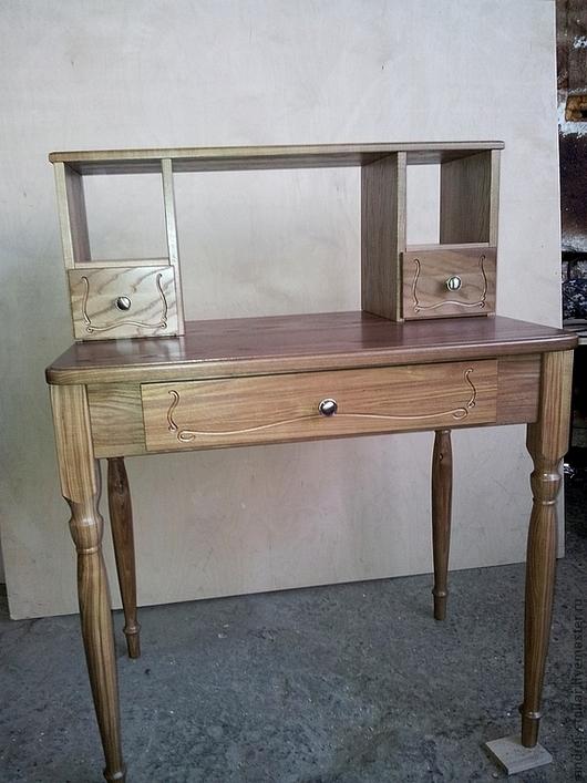 Мебель ручной работы. Ярмарка Мастеров - ручная работа. Купить Деревянный столик (001). Handmade. Ясень, массив, лак
