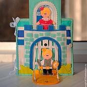 """Куклы и игрушки ручной работы. Ярмарка Мастеров - ручная работа Развивающая книжка """" Кукольный домик """". Handmade."""