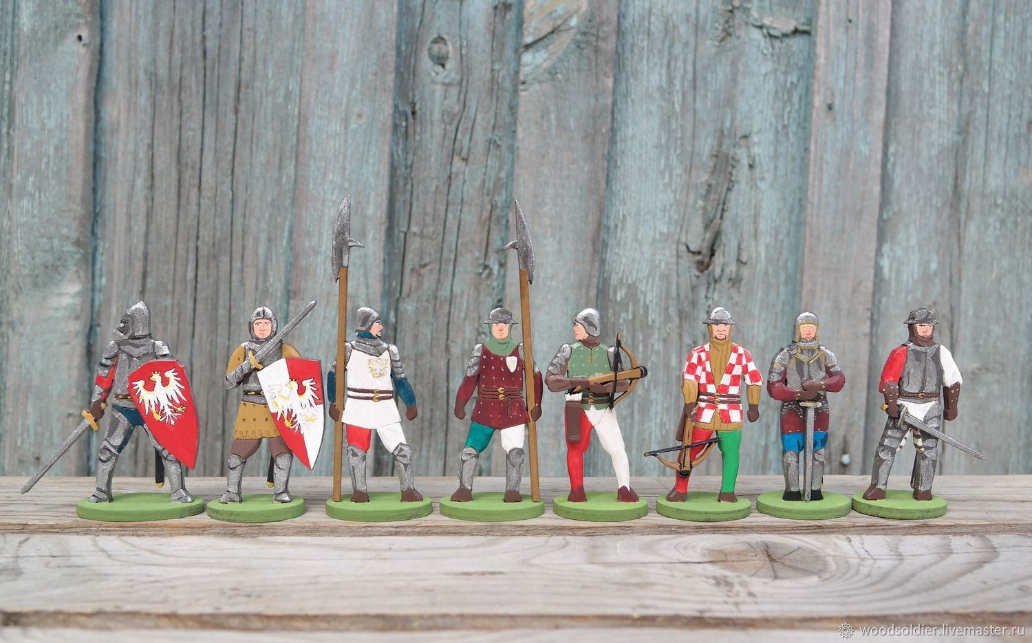 A collection of 'Knights', Miniature figurines, Izhevsk,  Фото №1