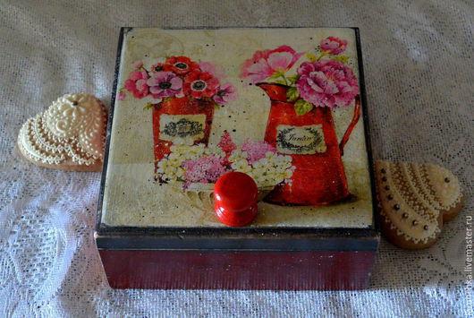 """Кухня ручной работы. Ярмарка Мастеров - ручная работа. Купить Короб для трав """"Летнее утро"""". Handmade. Разноцветный, короб"""