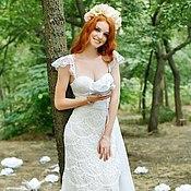 """Свадебный салон ручной работы. Ярмарка Мастеров - ручная работа платье """"Красота и женственность"""". Handmade."""