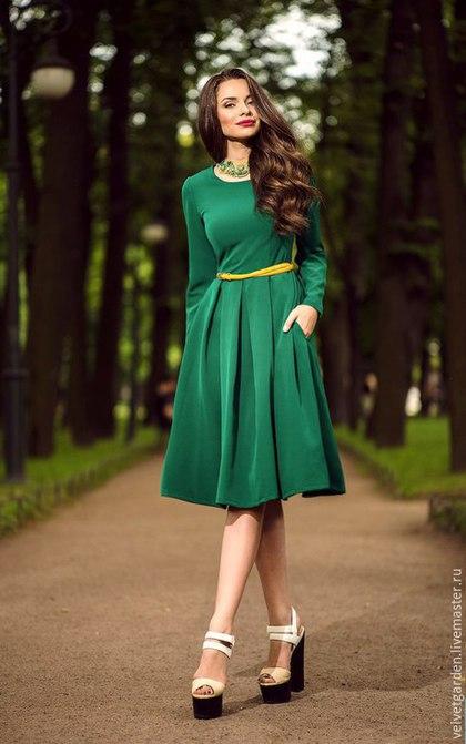 Платье с бантовыми складками Леди,женственное платье, стильное платье, романтичное платье, принимаем заказы на индивидуальный  пошив, мастерская Velvet Garden