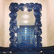 """Для дома и интерьера ручной работы. Ярмарка Мастеров - ручная работа Рама с зеркалом """"Серебряный век"""". Handmade."""