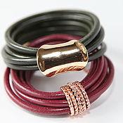 Украшения handmade. Livemaster - original item The Elegance bracelets with rings from the collection Accessorize. Handmade.