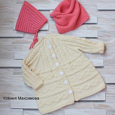 Clothing handmade. Livemaster - original item Cardigan Cookie size 80. Handmade.