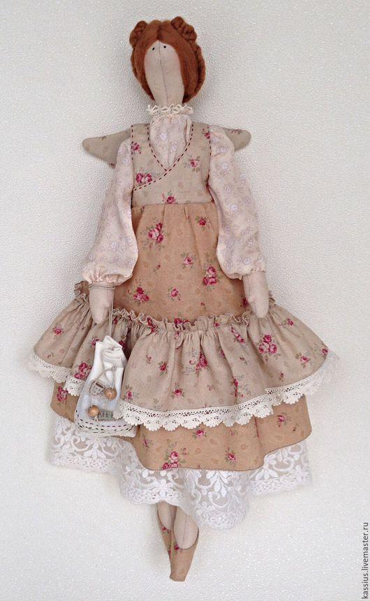 Куклы Тильды ручной работы. Ярмарка Мастеров - ручная работа. Купить Кофейная фея (Интерьерная кукла ангел тильда). Handmade.
