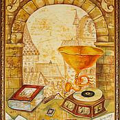 Картины и панно ручной работы. Ярмарка Мастеров - ручная работа Натюрморт на фоне арки. Handmade.