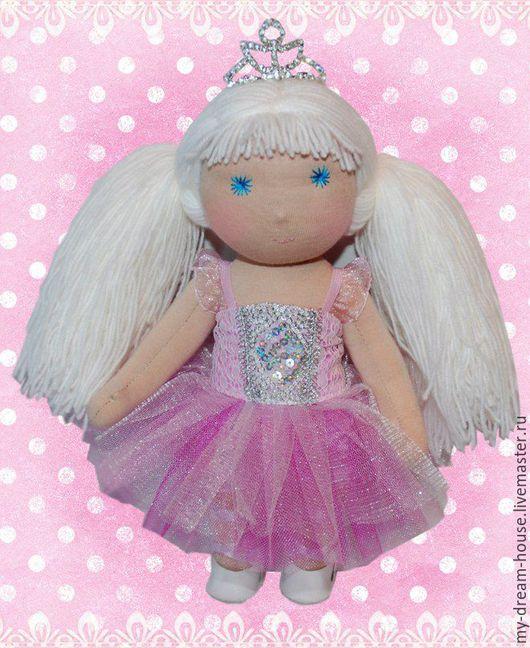 Вальдорфская игрушка ручной работы. Ярмарка Мастеров - ручная работа. Купить Вальдорфская кукла. Мила.. Handmade. Розовый, кукла, принцесса
