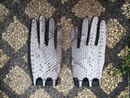 Варежки, митенки, перчатки ручной работы. Ярмарка Мастеров - ручная работа. Купить перчатки Snake. Handmade. Серый, перчатки женские