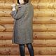"""Верхняя одежда ручной работы. Пальто вязанное двустороннее """"Мышка"""". OLGA'Z. Интернет-магазин Ярмарка Мастеров. Вязанное спицами, стильное"""