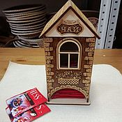 Для дома и интерьера handmade. Livemaster - original item tea house. Tea storage. Handmade.