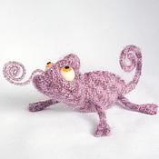 Куклы и игрушки ручной работы. Ярмарка Мастеров - ручная работа Хамелеоны. Handmade.