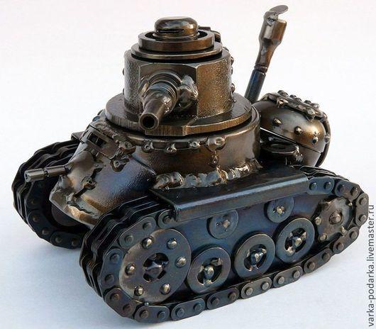 Письменные приборы ручной работы. Ярмарка Мастеров - ручная работа. Купить паровой танк. Handmade. Танк, письменный прибор
