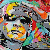 Картины и панно handmade. Livemaster - original item Portrait Of Vladimir Putin. Handmade.