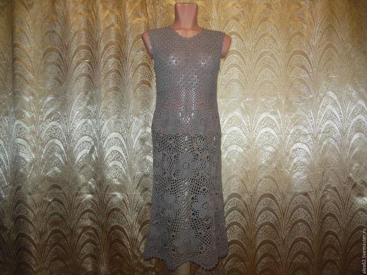 Платья ручной работы. Ярмарка Мастеров - ручная работа. Купить Платье. Handmade. Ажурное, бежевый