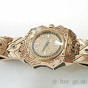 handmade. Livemaster - original item Gold watch