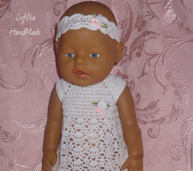 Мастер класс вязание на куклу беби бон
