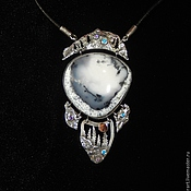 Украшения handmade. Livemaster - original item The suspension of silver