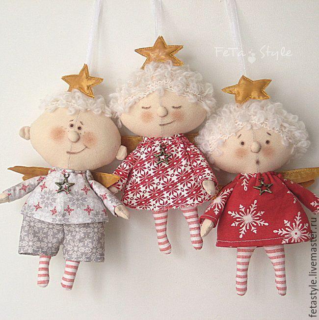Ангелы из текстиля своими руками