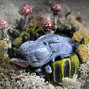 Подарки к праздникам handmade. Livemaster - original item Kid in the moss. Handmade.
