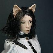 Куклы и игрушки ручной работы. Ярмарка Мастеров - ручная работа Фарфоровая шарнирная кукла Халисса. Handmade.