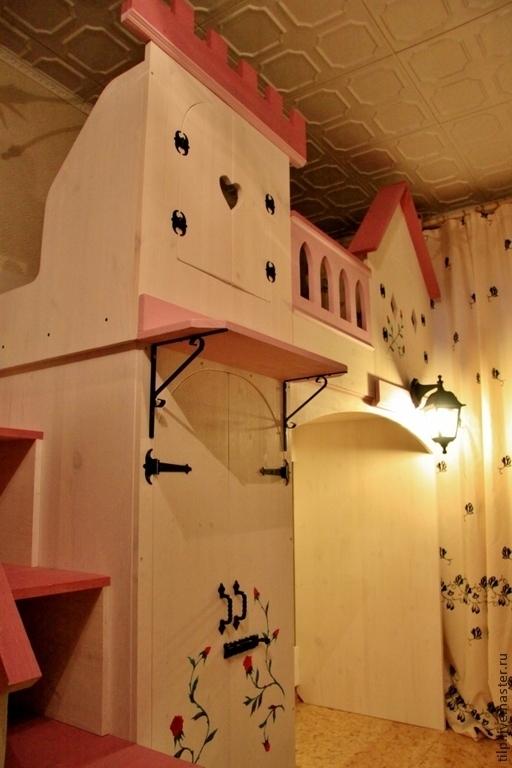 """Детская ручной работы. Ярмарка Мастеров - ручная работа. Купить Кровать-чердак """"Замок"""", детская.. Handmade. Детская мебель"""