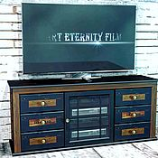 Тумбы ручной работы. Ярмарка Мастеров - ручная работа Тумба под ТВ с консолями OLD CHARLES CLASSIC. Handmade.
