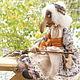 Коллекционные куклы ручной работы. Баба Яга. Авторская текстильная кукла. Анастасия Голенева. Ярмарка Мастеров. Авторская игрушка