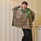 Tunics handmade. Livemaster - original item Color boucle tunic. Art. 416. Handmade.